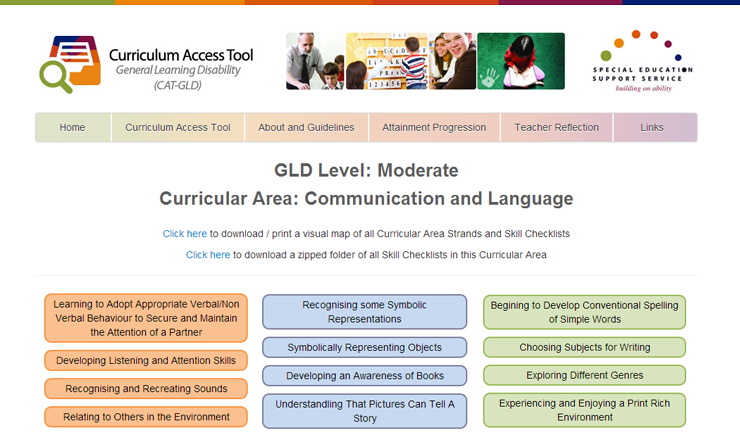 Curriculum Access Tool